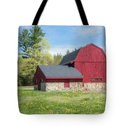 Woodmont Red Tote Bag