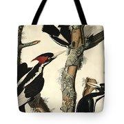 Woodpecker Tote Bag