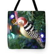 Woodpecker Ornament Tote Bag