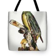 Woodpecker Red Heads Tote Bag
