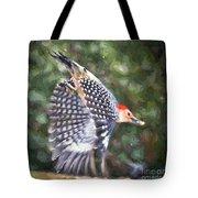 Woodpecker Wings Tote Bag