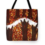 Woods In Autumn Tote Bag