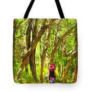 Woods Walk Tote Bag