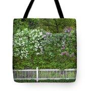 Woodstock Village Lilacs Tote Bag
