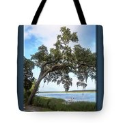 Woodstorks At Oak Grove Island Tote Bag