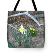 Woodsy Narcissus Tote Bag