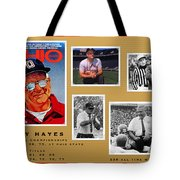 Woody Hayes Legen Five Panel Tote Bag