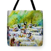 Wooley Bunch Tote Bag