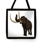 Woolly Mammoth Profile Tote Bag