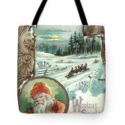 Woolson Spice Company Christmas Card Tote Bag
