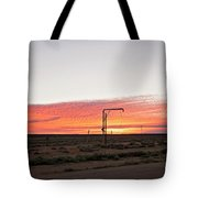Woomera Sunset Tote Bag