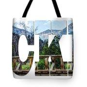 Word Art...the Rockies Tote Bag