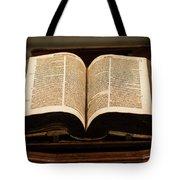 Word Of God Tote Bag