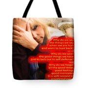 Words Tote Bag