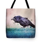 Words Of A Raven Tote Bag