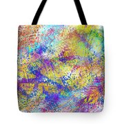 Work 00101 Abstraction Tote Bag