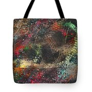 Work 00101 Abstraction Variant 2 Tote Bag