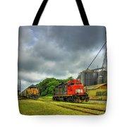 Work Horse Trains 7 Madison Georgia Locomotive Art Tote Bag