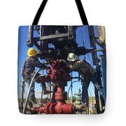 Work Over Tote Bag