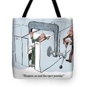 Work Pressure. Tote Bag