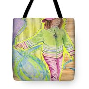 Work The Wind Tote Bag