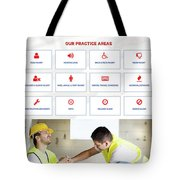 workerscompensationlawyer Infograpics Tote Bag