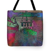 Workhorse In The Mist Tote Bag