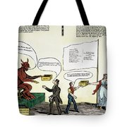 Workie Cartoon, 1829 Tote Bag