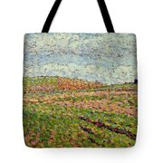 Working At Eragny 1886 Camille Pissarro Tote Bag