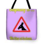 Working Bigstock Donkey 171252860 Tote Bag