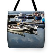 Working Boats Tote Bag