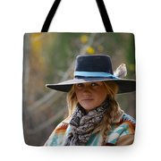 Working Cowgirl Tote Bag