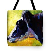 Working Girl - Holstein Cow Tote Bag