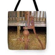 Working Hand Pump Tote Bag