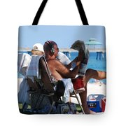 Working Hard Tote Bag
