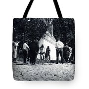 Working It Out Tote Bag