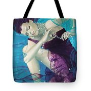 Working On A Dream - Loose Pearls Tote Bag by Dorina  Costras