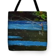 Working The Shadows 2 Tote Bag