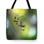 Working The Web Tote Bag