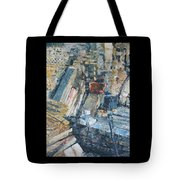 Working To Abstraction Tote Bag