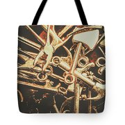 Workshop Abstract Tote Bag