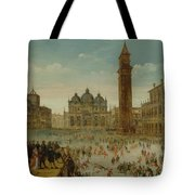 Workshop Of Caullery, Louis De Caulery Circa 1580 - 1621 Antwerp Carnival In Venice. Tote Bag