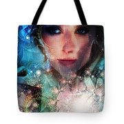 World Acording To Sellah Wildfury Tote Bag
