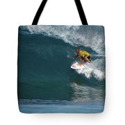 World Champion In Action Tote Bag