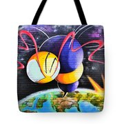 World Color Bee Tote Bag