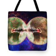 World Communications Tote Bag