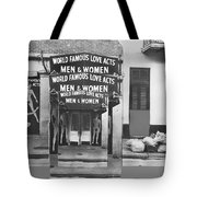 World Famous Love Acts French Quarter New Orleans Louisiana 1976-2012 Tote Bag
