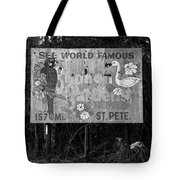 World Famous Sunken Gardens Tote Bag