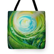 World In Movement Tote Bag