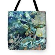 World In The Sea Tote Bag